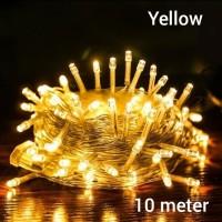 lampu tumbrl lampu natal lampu hias natal kuning
