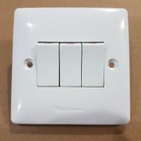 Saklar Triple Panasonic Acrosea WABJ 5031-N IB Inbow Switch