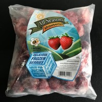 Frozen Strawberries / Stroberi Beku / Buah Beku - 500gr