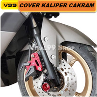 Cover Kaliper Cakram Motor Nmax Aerox New Nmax 2020 Vixion Caliper Cnc