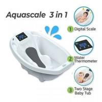 Aqua Scale Bak Mandi Bayi dengan Timbangan dan Termometer
