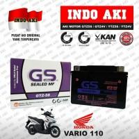 Aki Motor Honda Vario 110 GTZ5 GTZ5S GTZ 5S GS Accu Kering MF