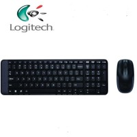 KEYBOARD + MOUSE WIRELESS LOGITECH MK220 RESMI
