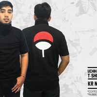 UCHIHA SASUKE T-SHIRT COSPLAY (KERAH KAKU) (KR NRT 01)