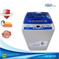 Mesin Cuci 1 Tabung Aqua Sanyo AQW77DH 7.5KG Hijab Mode Full otomatis