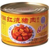 Q3 Stewed Pork Cubes / Daging Samcam Dadu B2 Babi Kecap Kalengan 256gr