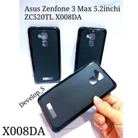 Softshell Silicon Case Asus Zenfone 3 Max 5.2inchi ZC520TL X008DA Tpu