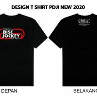 Kaos DJ - T-Shirt PDJI (Resmi dan Original)