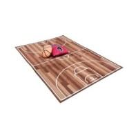 Set Karpet 130x180 cm + Bantal Sofa Basketball / Bola Basket