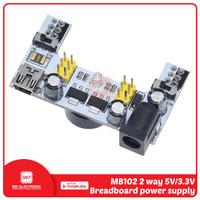 MB102 Breadboard Power Supply DC 6.5-12V MB102 White - Mini USB