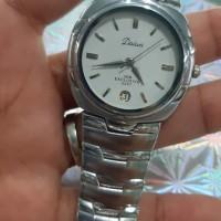 jam tangan pria daiwa quartz stainles steel
