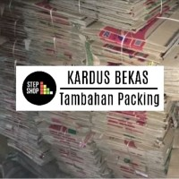 KARDUS BEKAS -- Untuk Tambahan Packing