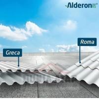ALDERON RS ATAP UPVC GELOMBANG Greca / Kotak (Harga per mtr lari)