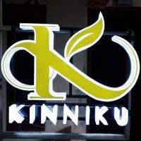 Huruf timbul Akrilik, Neon box