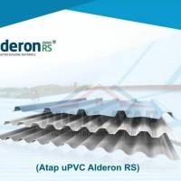 Alderon RS atap Upvc Gelombang Single Layer Trimdeck