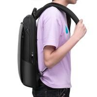 Marveen Tas Ransel Tertipis ultraslim tas punggung laptop usb backpack