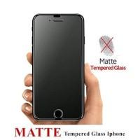 TEMPERED GLASS MATTE ANTI MINYAK FINGER GLARE IPHONE 7 8 PLUS 7+ 8+