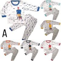 Piyama Bayi / Stelan Baju Tidur Anak Bayi Laki Trouble