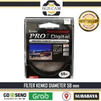 Filter 58 mm Kenko UV Protect / 58mm lensa 18-55