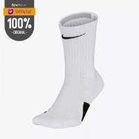Kaos Kaki Basket Nike Elite Crew Socks White Original Sx7622-100