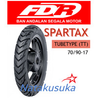 Ban Luar FDR Spartax Tubetype (TT) 70/90-17