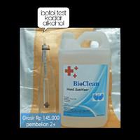 Hand Sanitizer 5 Liter Murah BioClean/ Antis Antiseptic / Kesehatan