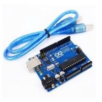 Arduino Uno R3 Compatible ATmega328P DIP + Cable