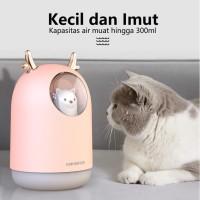 [COD] CIJI Humidifier Oil Diffuser Air 300ML Ultrasonic Aroma Theraphy