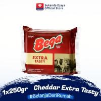 Bega Keju Cheese Cheddar Extra Tasty 250 gr
