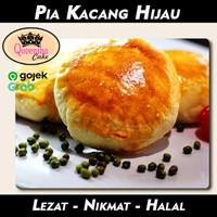 Kue Bakpia Bapia Pia kacang hijau ijo special VEGETARIAN food