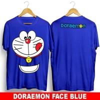 DORAEMON FACE/KAOS DISTRO /BAJU COWOK /TSHIRT PRIA