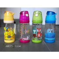 BOTOL AIR MINUM ANAK FOOD GRADE BPA FREE - AM075