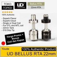 Authentic UD BELLUS RTA 22mm   dual single coil