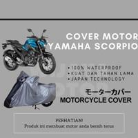 Cover Selimut Penutup Sarung Mantel Motor Yamaha Scorpio Waterproof - Non Waterproof