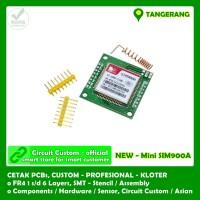 mini GPRS GSM modul SIM900A Board Module Extensions Wireless Antenna
