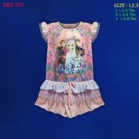 (DB3-11V) Daster Anak Frozen Beautiful Dream (Usia 2-5 Tahun)