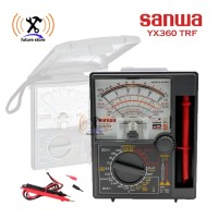 SANWA YX360 TRF MULTITESTER MULTIMETER AVOMETER ANALOG ORIGINAL