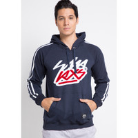 Sharks - Sweater Typo Series - Biru Navy [SGE2014751LL]
