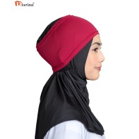 Nisrina Dalaman Jilbab Bando Lycra