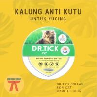 KALUNG ANTI KUTU Kucing DR. TICK FLEA & TICK COLLAR 30 CM - FOR CAT