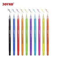 Color Gel Pen / Pulpen / Pena Joyko GPC-301~312 / Diamond Art / 0.5 mm