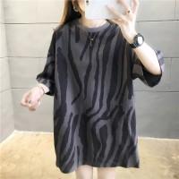 T-Shirt sweater big size Kaos Lengan Panjang BTS Oversized Wanita