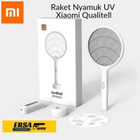 Raket Nyamuk Xiaomi Qualitell UV Light Mosquito Swatter Rechargeable