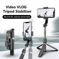 Gimbal Stabilizer Selfie Stick Tripod L08 For Smartphone