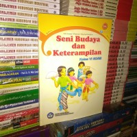 buku sbk seni budaya dan keterampilan untuk SD/MI kelas 6/VI Bse