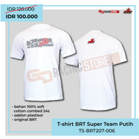T Shirt BRT Superteam Merchandise resmi BRT - Putih 002
