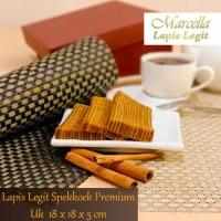 Kue Lapis Marcella Lapis Legit Bali Spekoek Premium Size 18x18x5cm