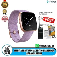 Fitbit Versa Special Edition Lavender Garansi Resmi