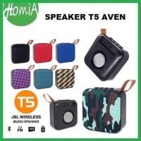 Speaker Bluetooth T5 AVEN Wireless Bluetooth Portable Suara Bass
