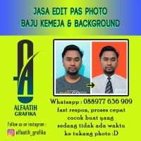Edit baju pas photo / pas foto dan ganti background